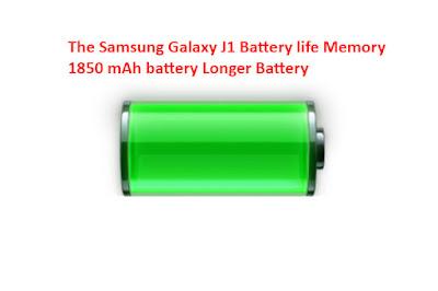 Galaxy j1 Battery life Memory