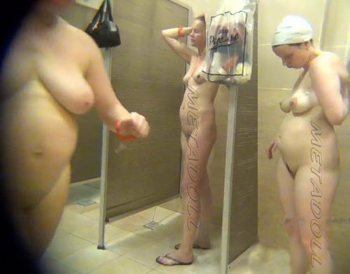 Swimming Pool Shower 115-123 (Public Shower Room Spy Cam)