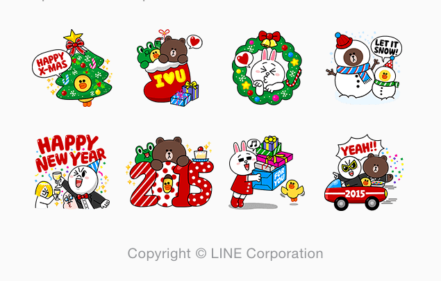 LINE Characters: Holiday Special