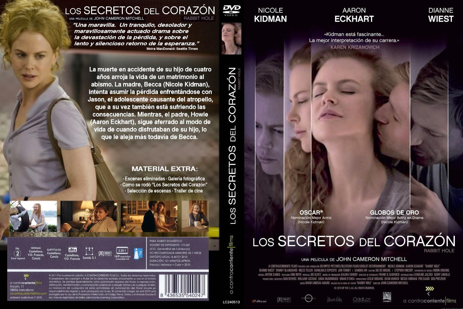 Los Secretos Del Corazon DVD