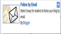 feedburner email box to blogger blog