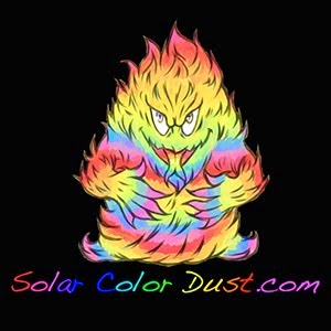 Solar Color Dust color-changing pigments