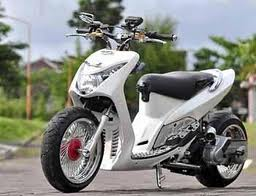 Modifikasi Motor Matic Mio Sporty title=