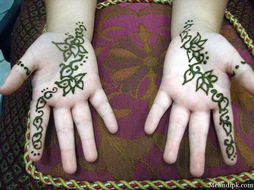 Mehndi For Baby : Top simple mehndi designs for kids u daily fun online