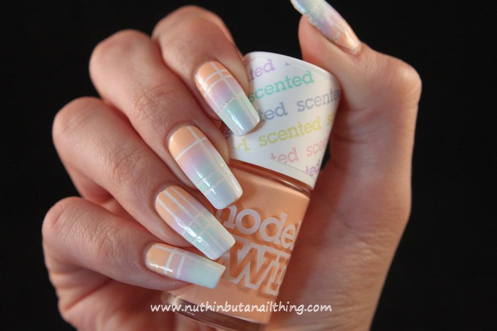 Models Own Fruit Pastel Gradient Nail Art