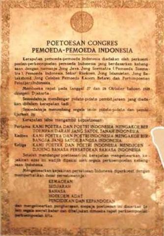 Sejarah Kongres Pemuda dan Sumpah Pemuda