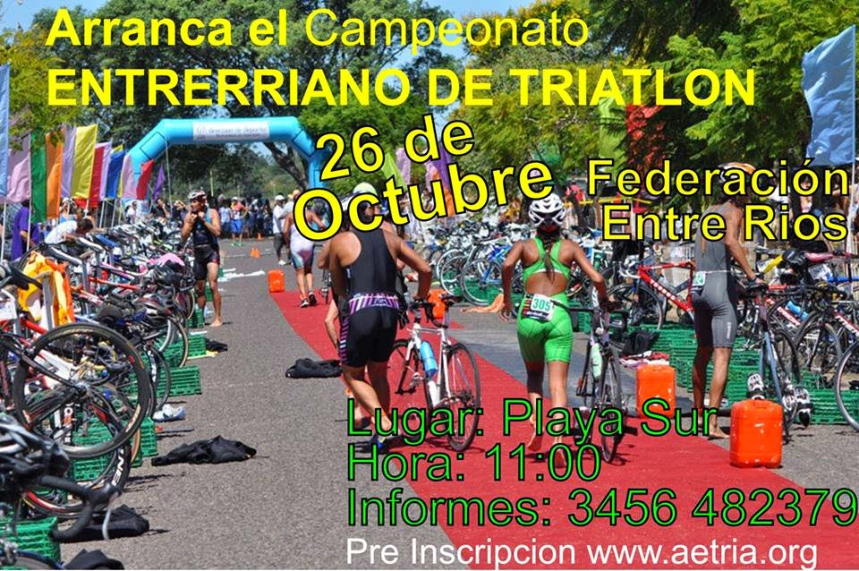 1º FECHA ENTRERRIANO DE TRIATLON 2014