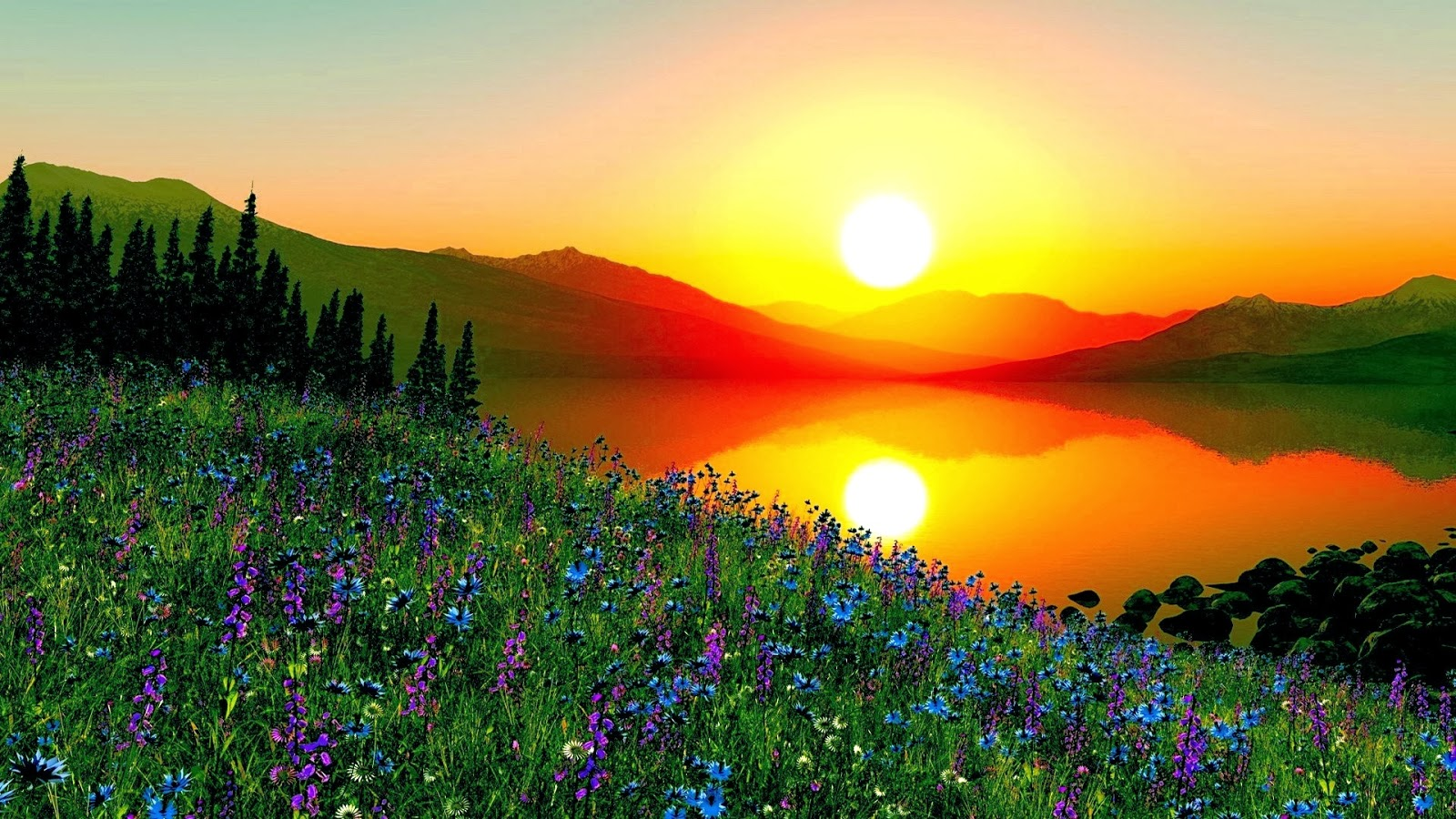 Sunrise Wallpapers  Most beautiful places in the world  Download