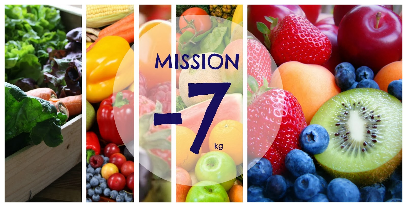 Mission -7kg! ou Comment me reprendre en main!