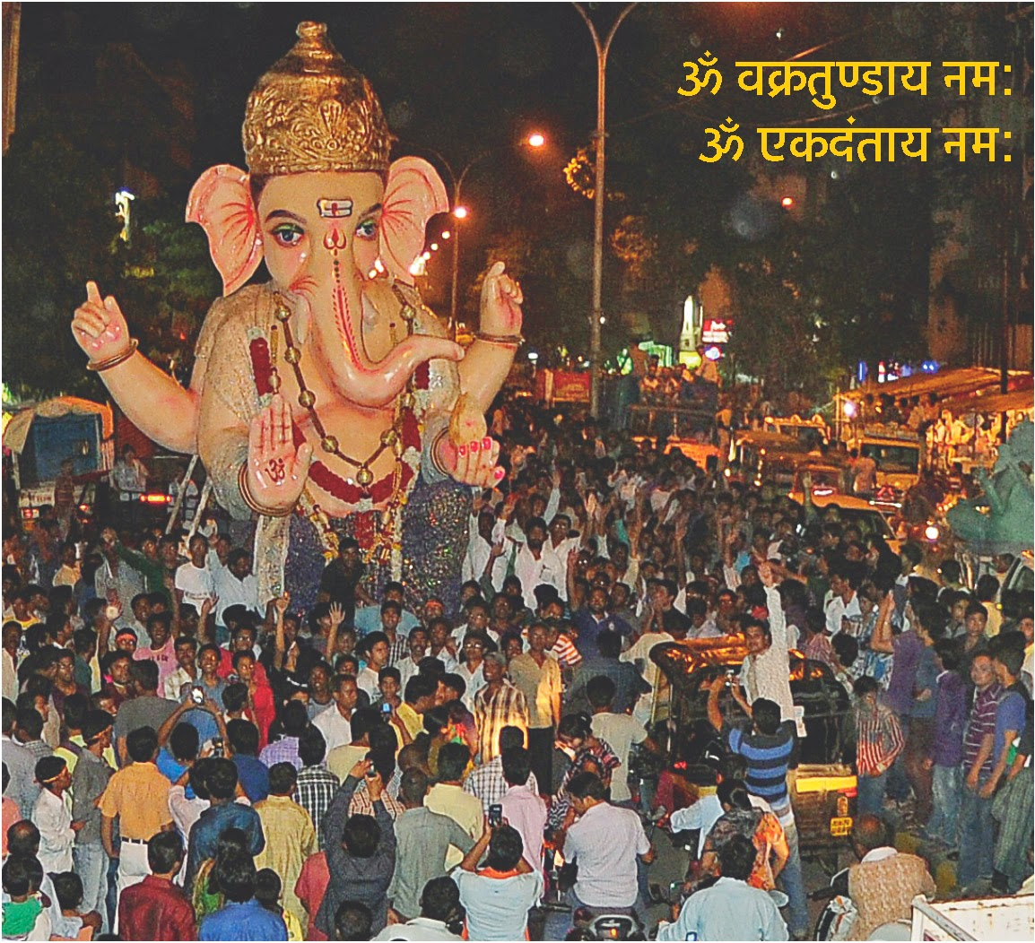 Nagpur Hill Top Colony Lorg Ganesha, Ganpati in Nagpur 2014