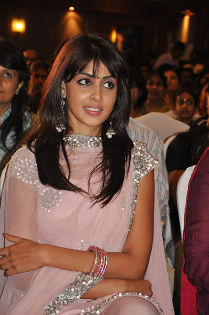 genelia hot in pink indian dress pics