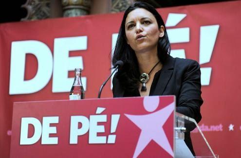 A Eurodepeputada Marisa Matias, do Bloco de Esquerda, Marca a Diferença!