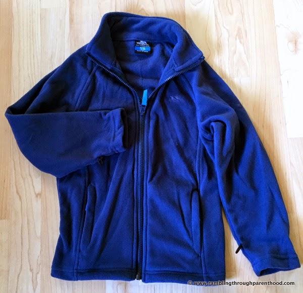 Inner fleece layer -Sulivan Boy's 3 in 1 Waterproof Jacket by Trespass