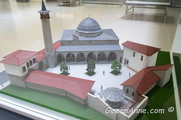 Anadolu'da yapılan ilk cami olarak bilinen Habib-i Neccar Cami maketi, Hatay arkeoloji müzesi