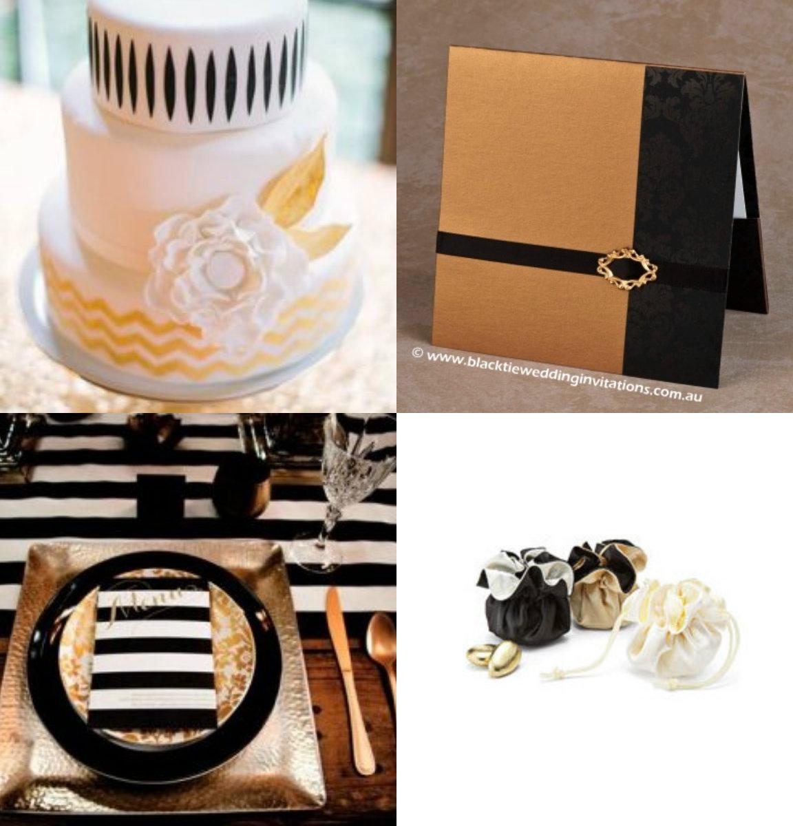 decoracao branca e dourada para casamento: de casamento, casa e maternidade: Decoração DOURADA, PRETA e BRANCA