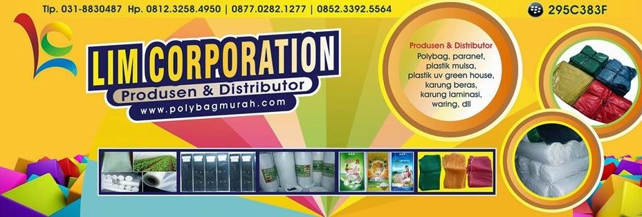 LIM CORPORATION - Pabrik dan Distributor:  Polybag, Paranet, Mulsa, Plastik UV dan Karung Beras