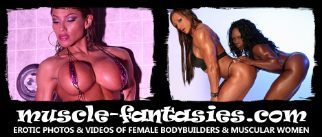 Muscle Fantasies Female Bodybuilding Photography