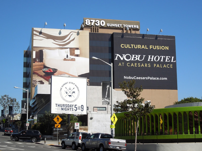 Cultural Fusion Nobu Hotel Caesars Palace billboard