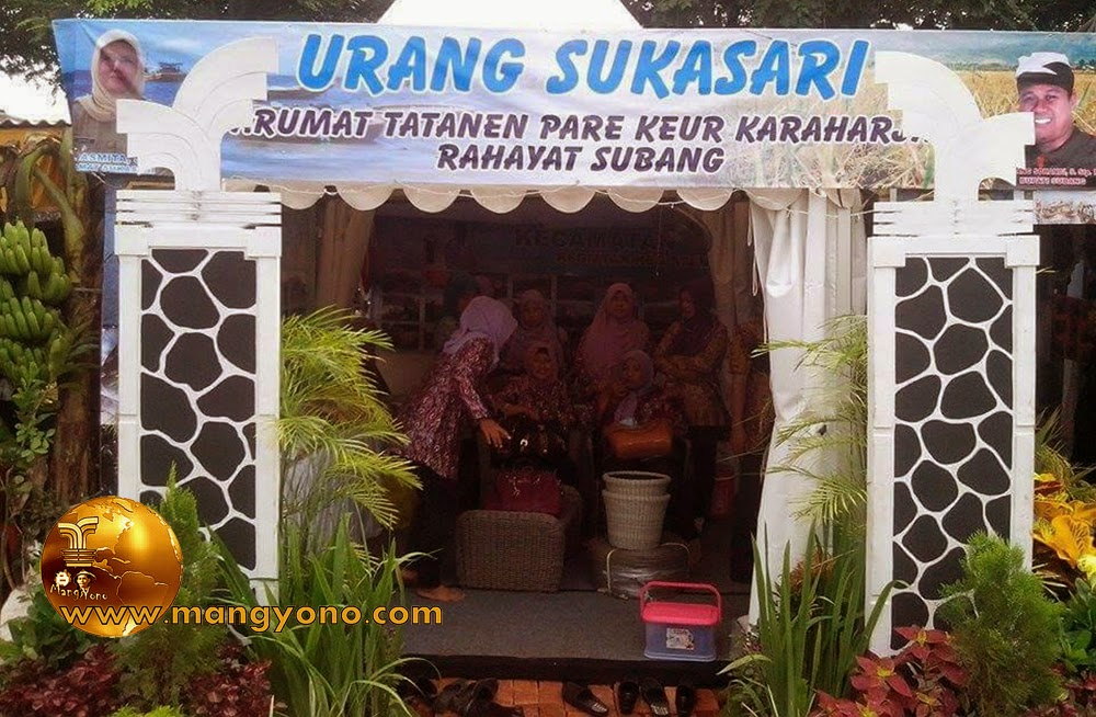 Stand Kec. Sukasari, Pameran Pembangunan 2015.