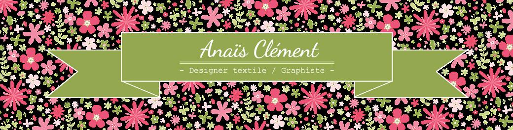 Anaïs designer textile/ graphiste