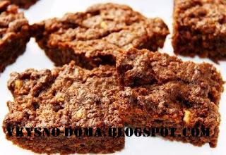 Шоколадное пирожное Брауни