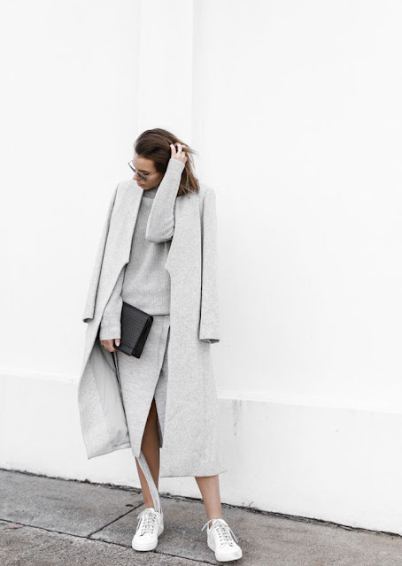 grey-on-grey-minimal-street-style-coat-sneakers