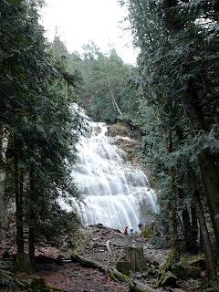 Bridal Veil Falls - British Columbia, Canada