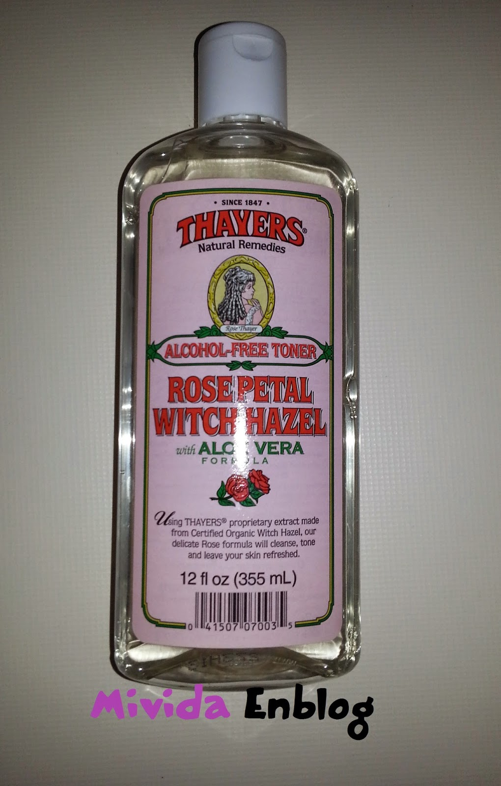 Tónico de rosas de Thayers
