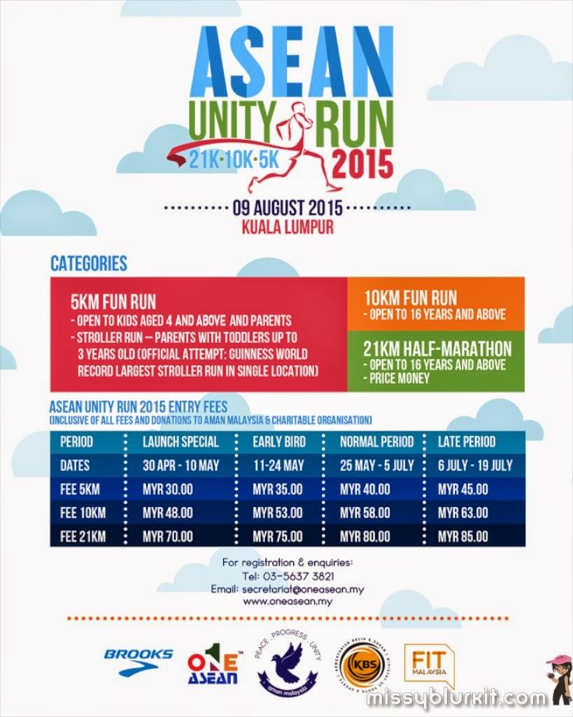 running, ASEAN Unity Run, padang merbuk, One ASEAN