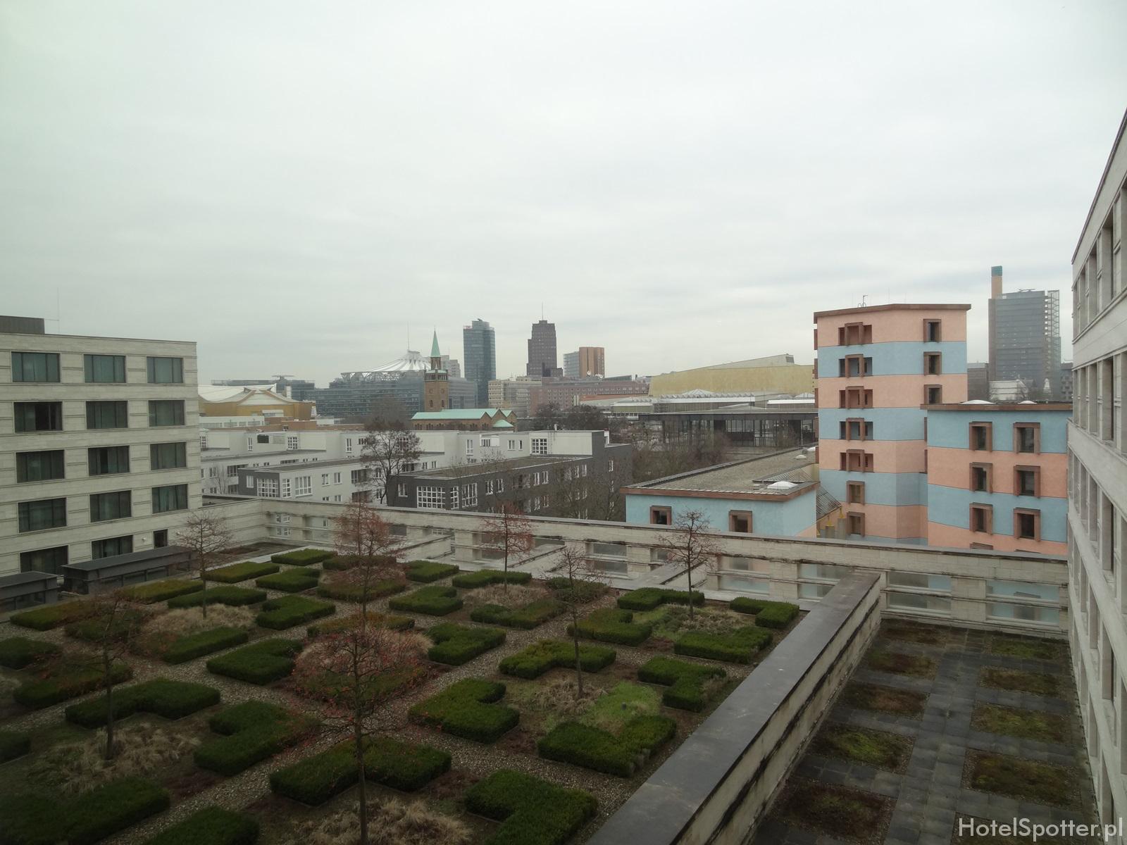 Maritim Hotel Berlin - widok view Potsdamer Platz