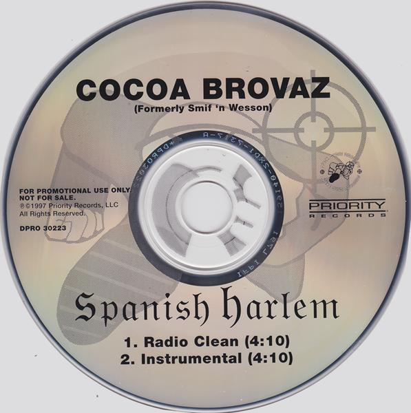 Cocoa Brovaz – Spanish Harlem (CDS) (1997) (192 kbps)