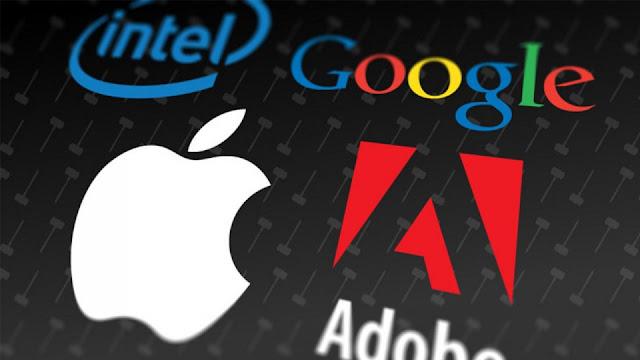 Google, Apple, Intel y Adobe pagarán $415 millones de dólares por demanda laboral