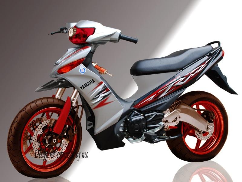 Variasi Motor Yamaha Vega Zr terkeren