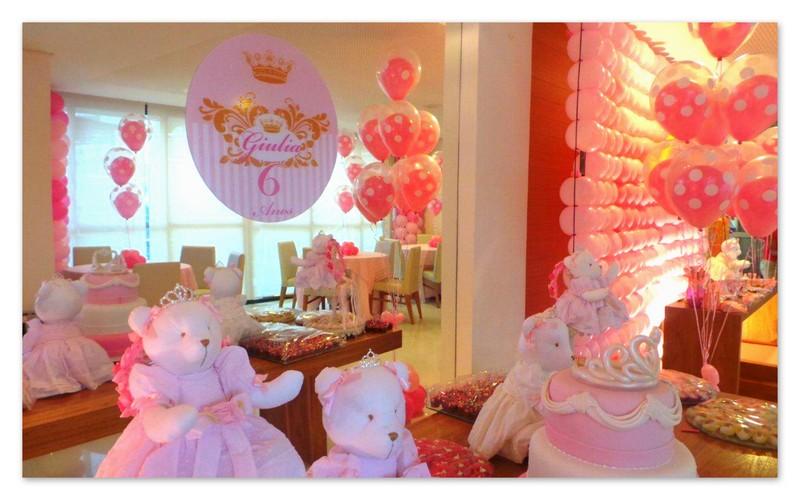 decoracao festa ursa princesa ? Doitri.com