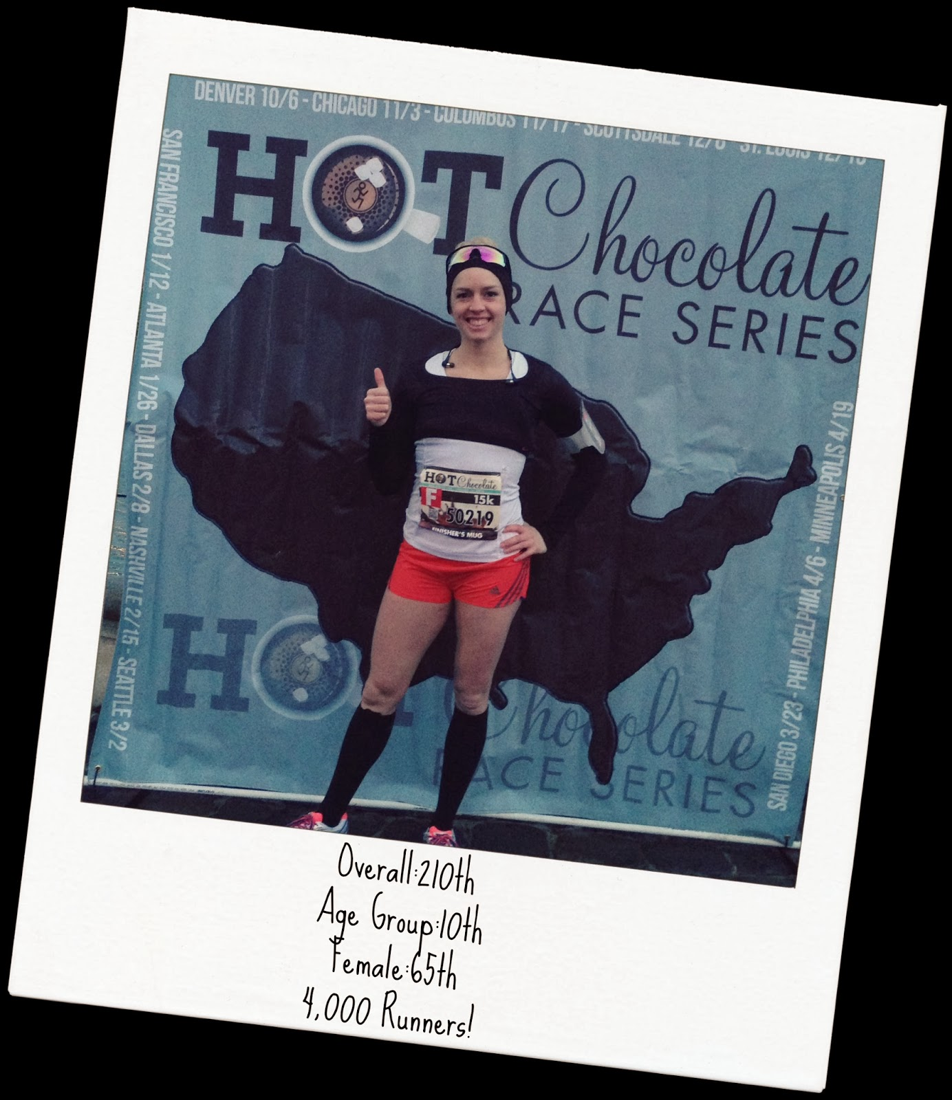 Brrr...The Hot Chocolate Run-My first run of 2014 - Devious fIT Girl
