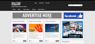 Johny Asal Responsive Blogger Template is a Responsive Free Blogger Template