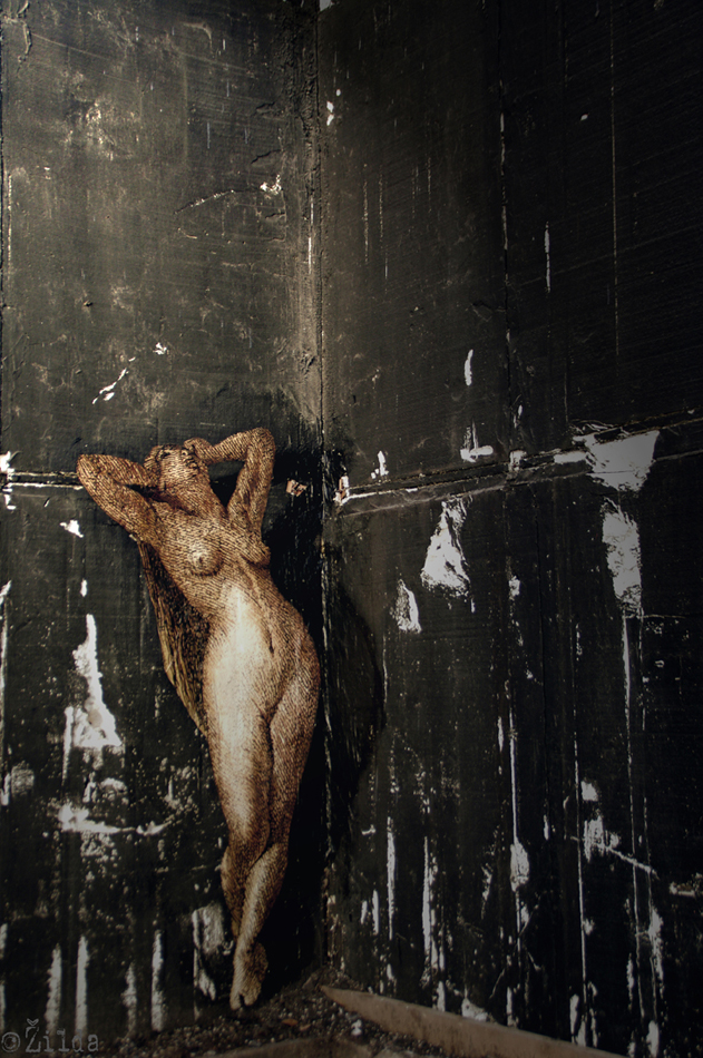 Zilda, street art, Fragiles Fabulae, St Malo