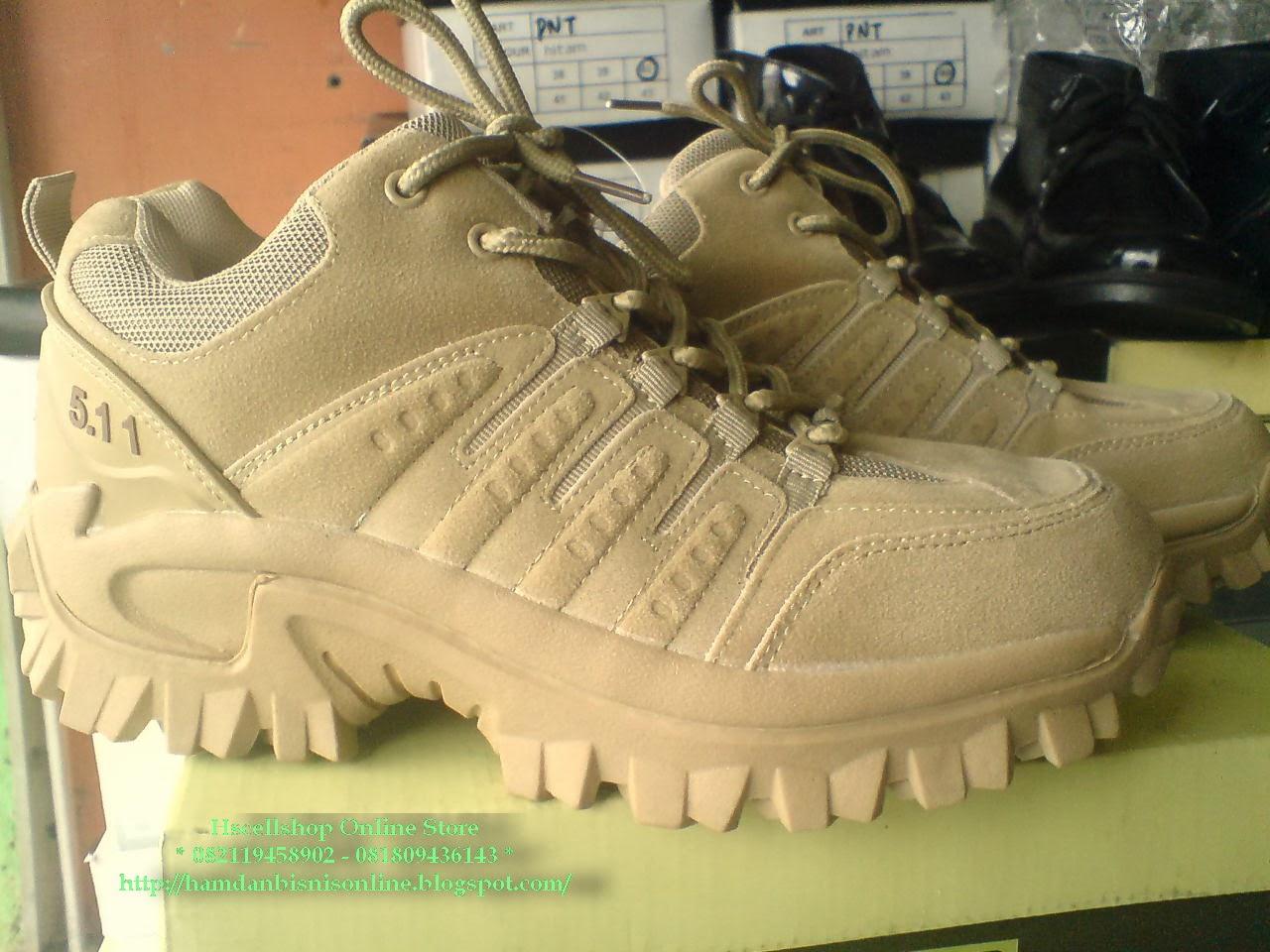 Sepatu PDL 511 Gurun 5 Pendek KODE SPT14