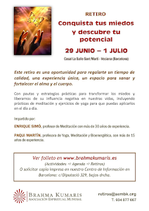 """RETIRO EN """"CASAL LA SALLE"""" DE ST. MARTI DE VECIANA DEL 29 DE JUNIO AL 1 DE JULIO 2018"""