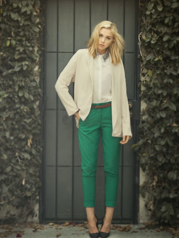 Fashion Emerald Pant Outfit