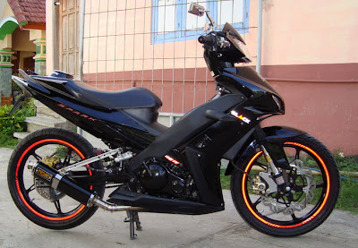 Modifikasi Minimalis Jupiter Mx New 2013