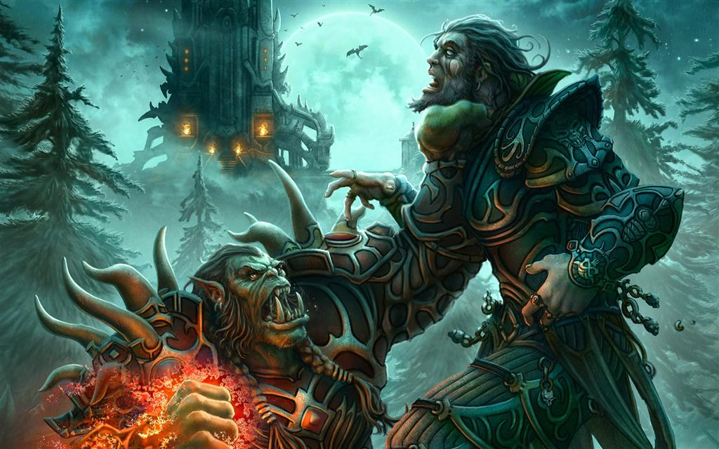 World of Warcraft HD & Widescreen Wallpaper 0.466465048165401