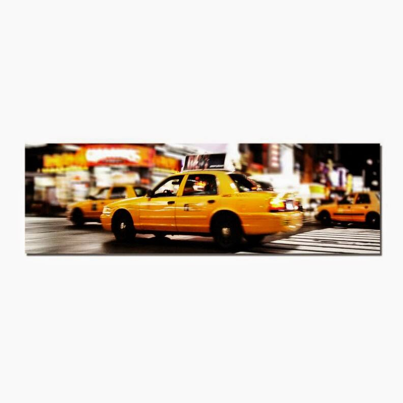 lienzo taxi nyc