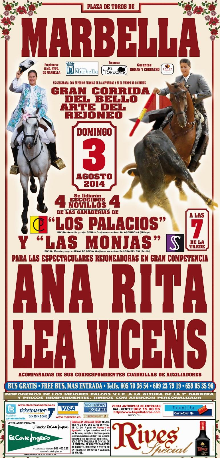 LOS TOROS CON AGUSTÍN HERVÁS.: julio 2014