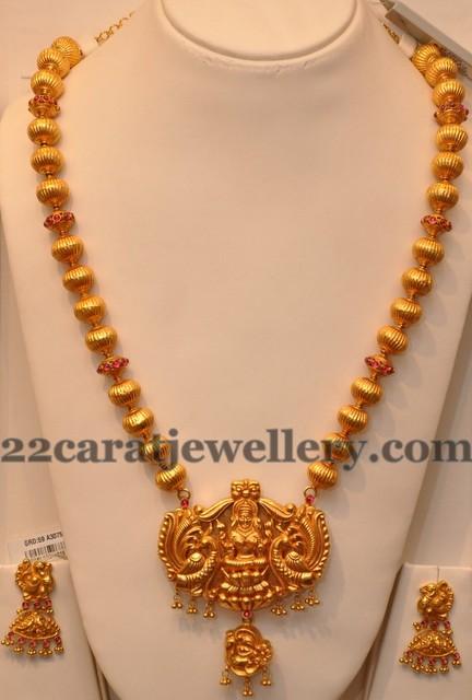 Prince Jewellers Latest Fusion Haram Jewellery Designs