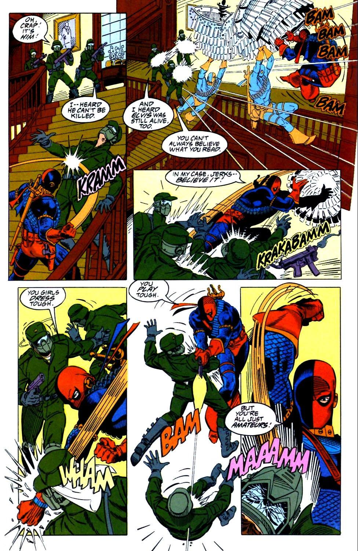 Deathstroke (1991) Issue #27 #32 - English 19