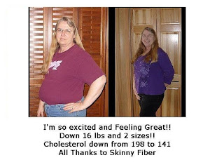 Skinny Fiber Weight Loss Success Pictures