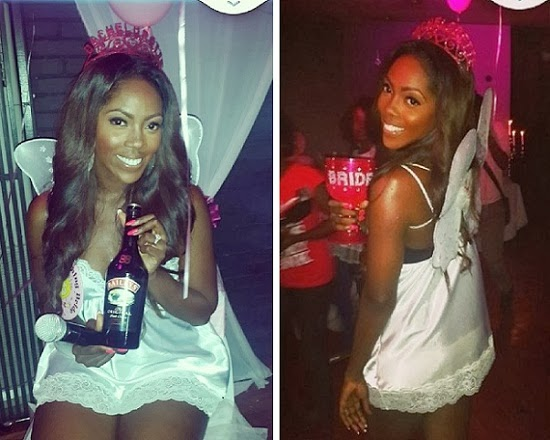 tiwa savage bachelorette party pictures