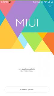 Cara Rooting MIUI V.7.0.9.0