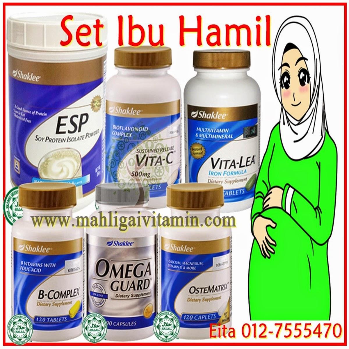 Set Lengkap Vitamin Ibu Hamil
